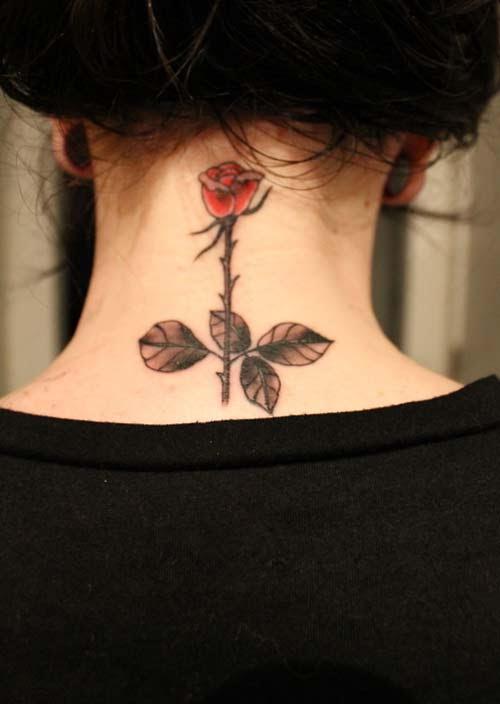 Tatuajes Para Mujeres En El Cuello Tatuajes Con Significado