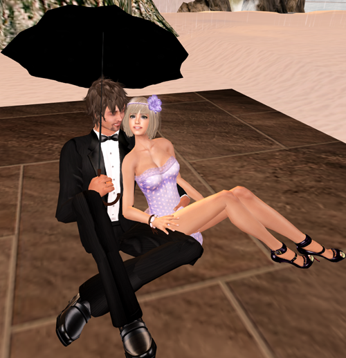 "PF2010 ::WetCat:: ""Raindrops"" pose set"