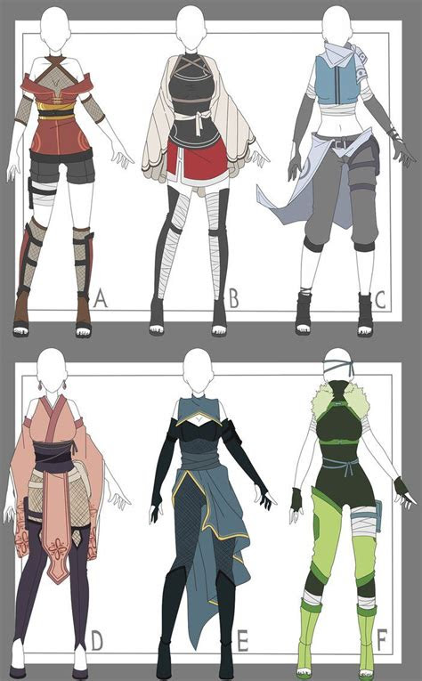 naruto outfit adoptables closed  xmisteryyuyux