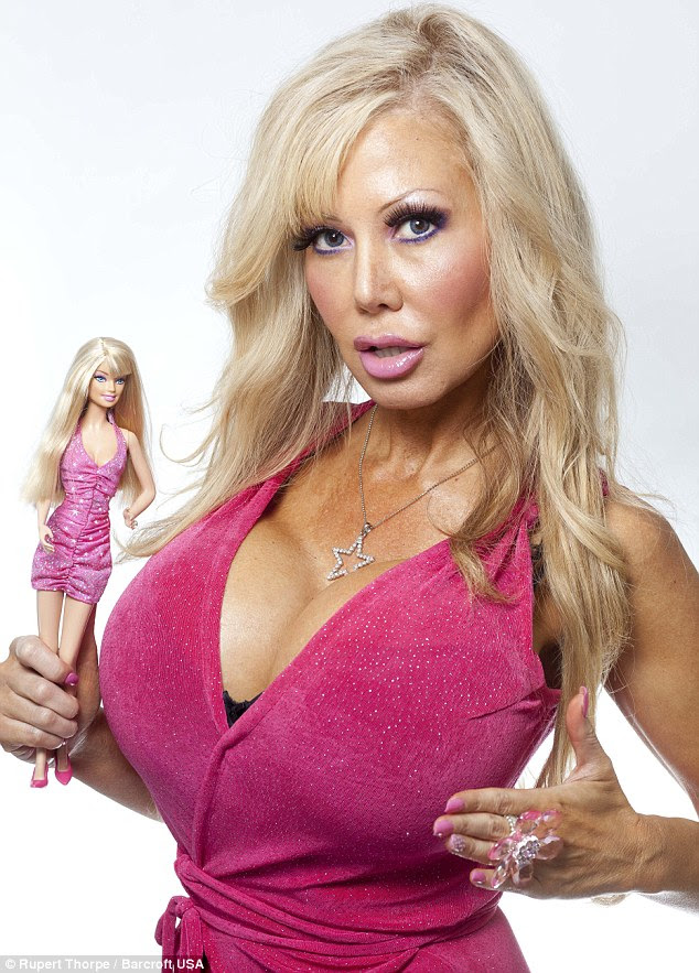 Blondie has had five breast enlargement operations, costing £25,000 in total, taking her to a 32JJ