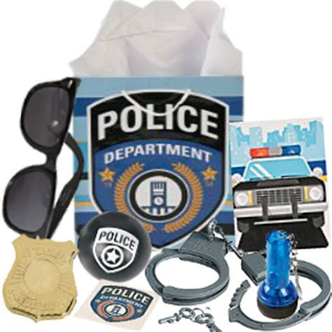 Police Loot Gift Bag Filled Party Supplies Canada   Open A