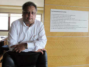 As per the bulk deal data available with the stock exchanges, Jhunjhunwala purchased 5 lakh shares of the software firm at an average price of Rs 25 apiece.