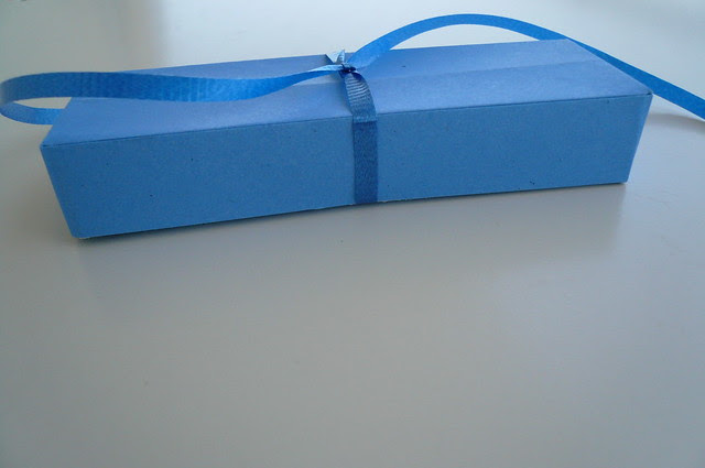 Little Blue Origami Box
