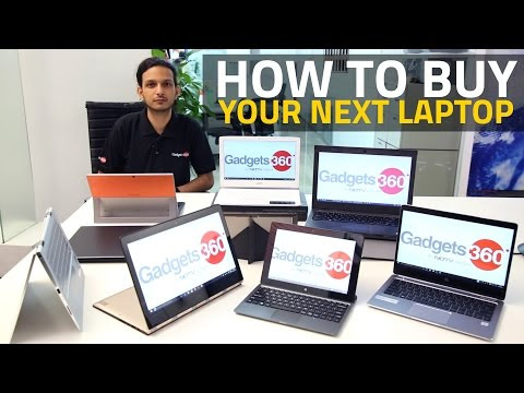 THE TOP 10 THINGS TO CONSIDER WHEN BUYING A NEW LAPTOP