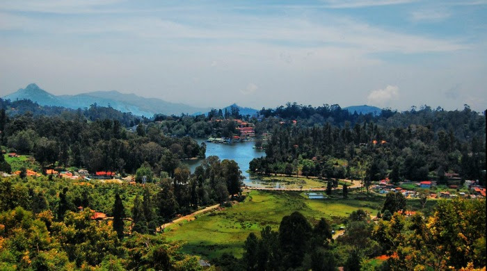Hill town of Kodaikanal - perfect place for a newly married couple