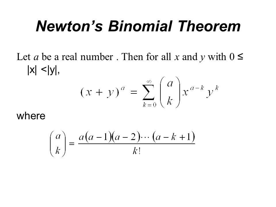 Newton Binomial Theorem Essay Writing Service July 2019