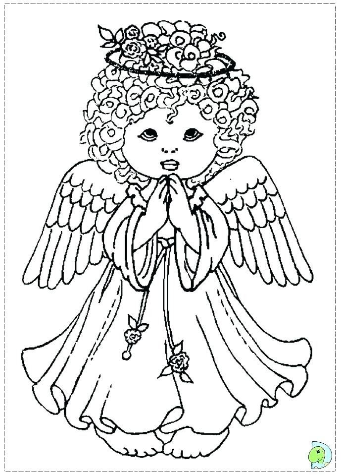 Girl Angel Coloring Pages at GetColorings.com | Free ...