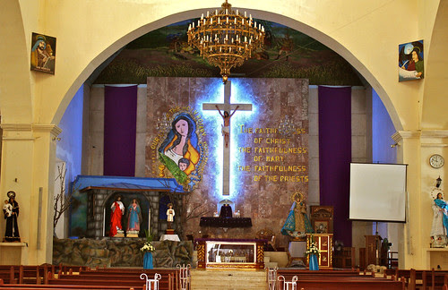 Our Lady of the Holy Rosary Church Altar