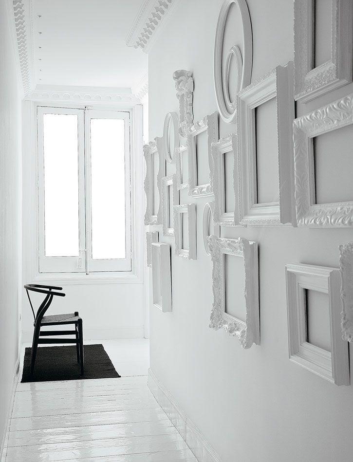 white frames