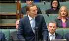 Tony Abbott parliament