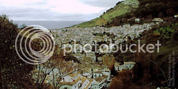 Panorámica del pueblo montañés de Cazorla, Jaén