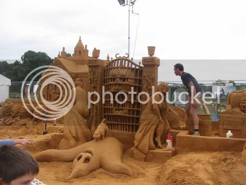 Sand Sculpture - 2