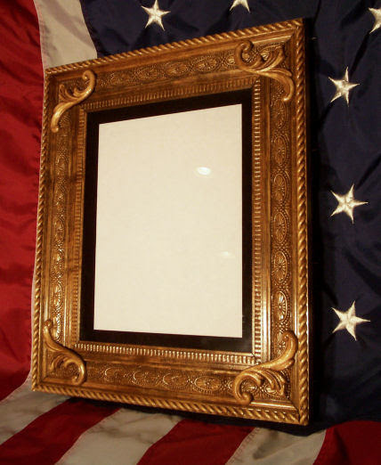 Flag Case For Military Or Memorial Flags Matching Shadow Boxes And