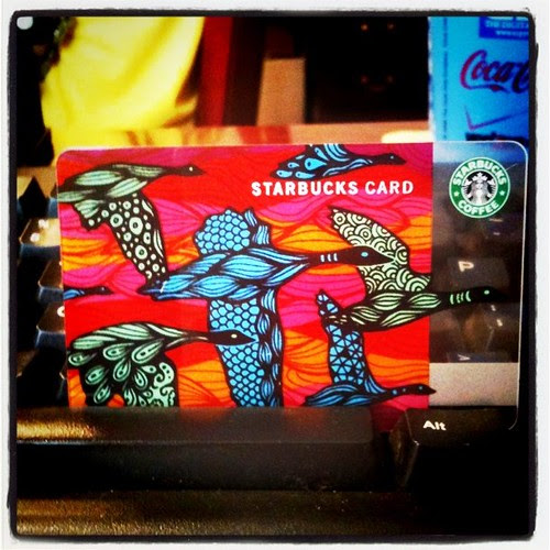 Cute Starbucks card