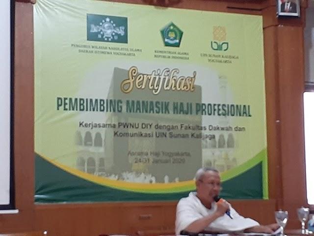 Sesi Praktik Manasik Haji Umroh