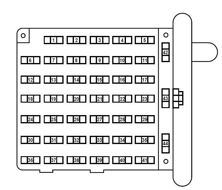 28 2003 Ford E150 Fuse Box Diagram - Wiring Diagram List