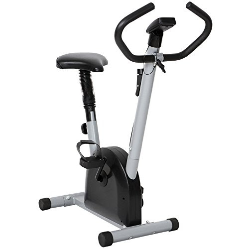 Physionics Home Exercise Bike Ergometer with 4 Display Options