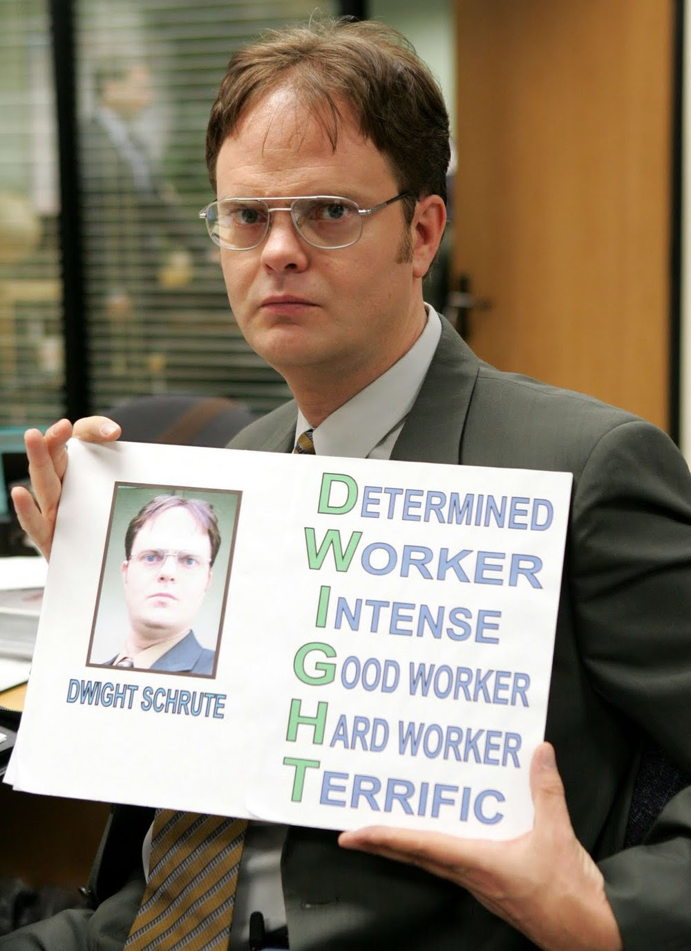 Dwight Schrute (The Office) and Autism — Undercover Autie
