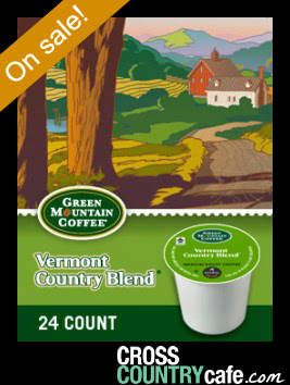 Vermont Country Blend Keurig K-cup coffee