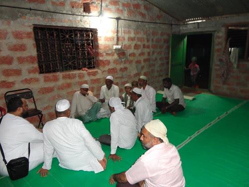 مسجد في منطقة فقيرة