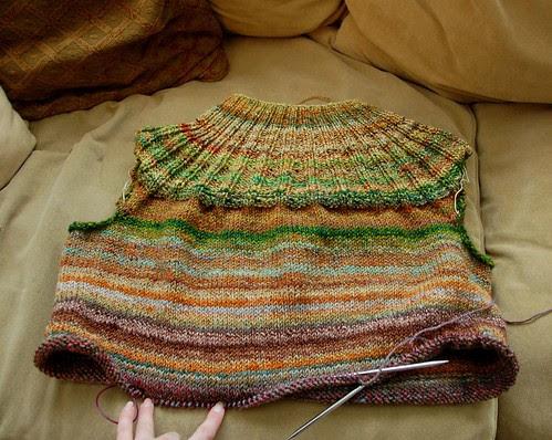 Olympic knitting