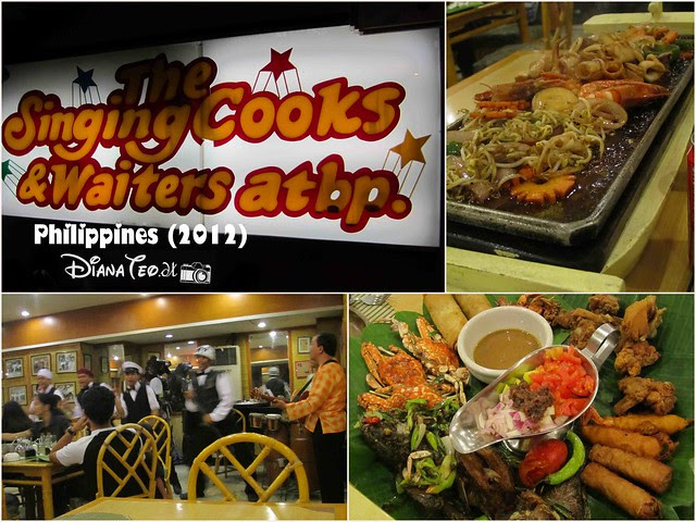 7D6N Philippines Day 3 - The Singing Cooks & Waiters Restaurant
