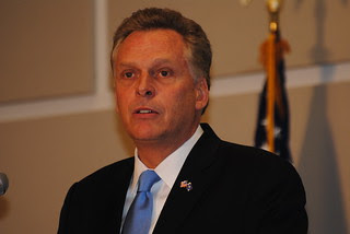 Virginia Governor Democrats Terry McAuliffe 095