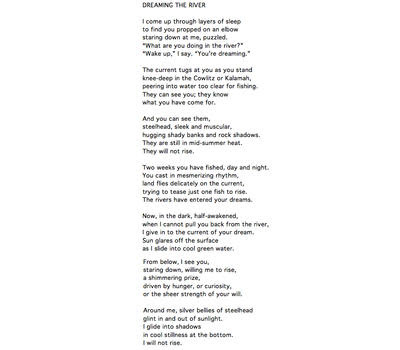 Poetry Sunday Lucile Burt Wcai