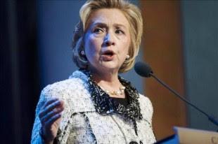 La exsecretaria de Estado estadounidense Hillary Clinton interviene durante la reunión anual de la Iniciativa Global Clinton en Nueva York, Estados Unidos. EFE/Archivo