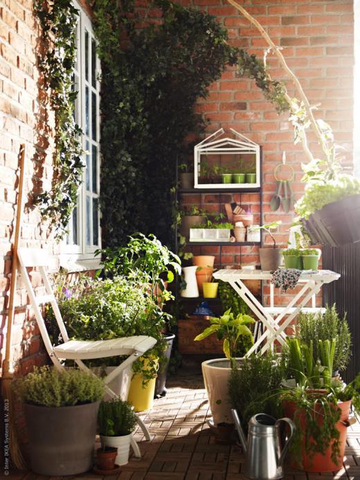 ideen fÜr einen kleinen balkon ~ barışın kişisel bloğu, Garten und erstellen