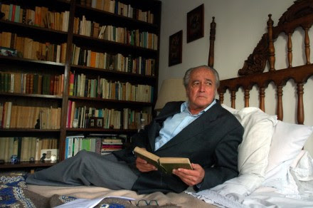 Luis Villoro, filósofo y escritor, en un retrato de septiembre de 2006. Foto: Eduardo Miranda