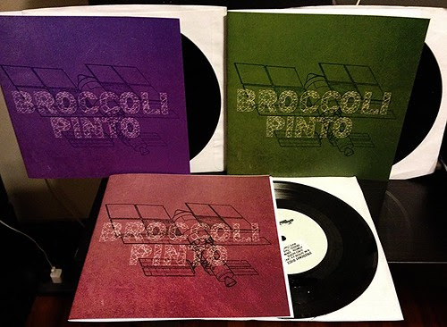 "Broccoli / Pinto - Split 7"" - 3 Cover Variations by Tim PopKid"