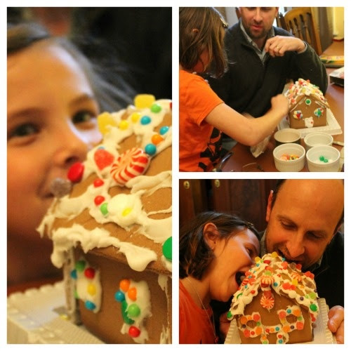 Gingerbread House Collage