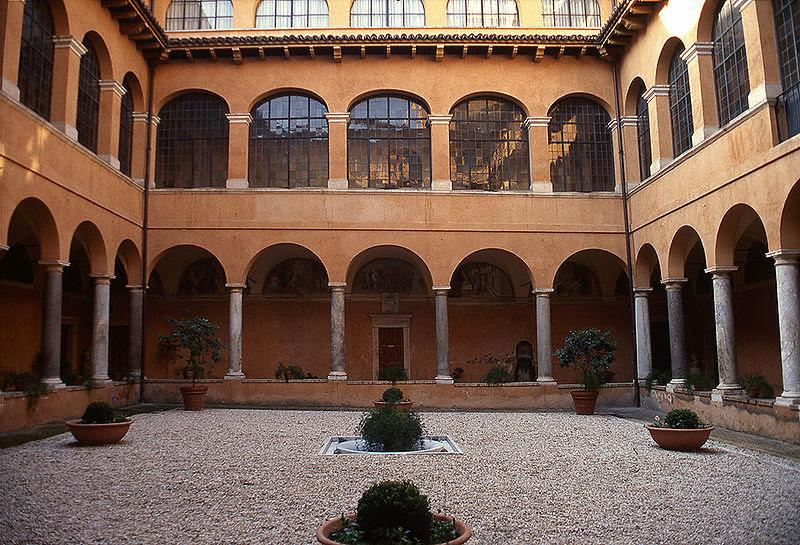 File:Reale Accademia di Spagna a Roma. Chiostro.jpg