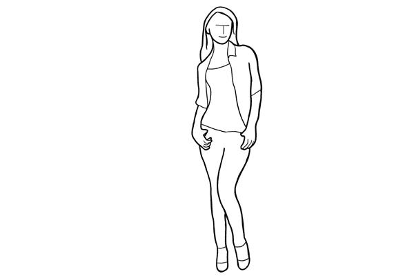 Позирование: позы для женского портрета 2-12