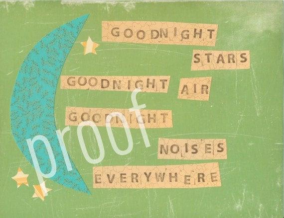 Goodnight Moon 8x10 print