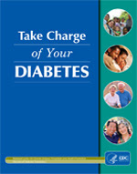 """Image of the cover of the publication, """"Take Charge of Your Diabetes 2003."""""""