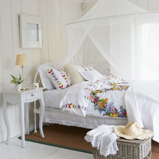 White country bedroom | Bedroom decorating idea | Neutral bedroom | Image | Housetohome
