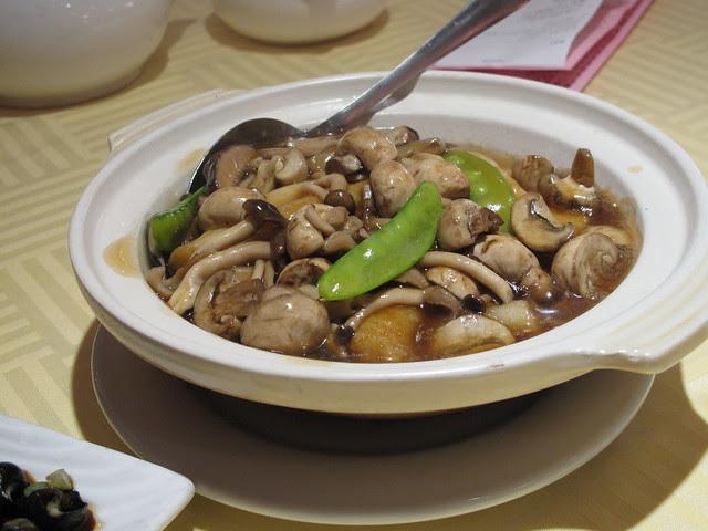 Mushroom Rice Noodle Rolls