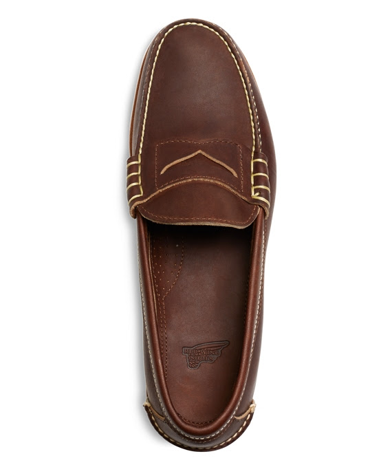 Men's Red Wing Amber Mini Lug Penny Loafers | Brooks Brothers