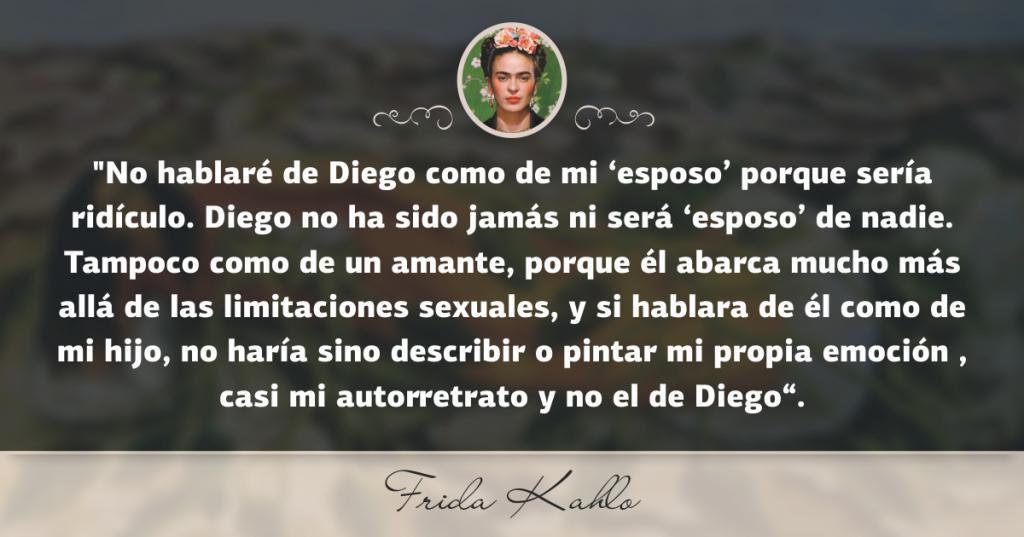 Las 12 Frases De Amor Mas Bellas De Frida Kahlo Y Diego Rivera