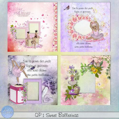 QP Sweet Ballerinas 1 et 2