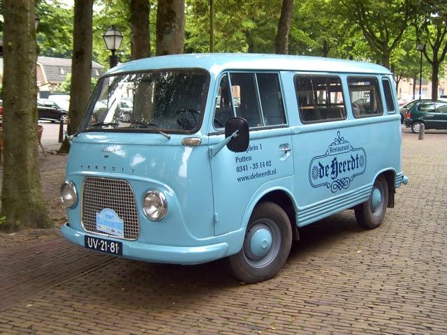 1965 Ford-K Taunus Transit UV-21-81