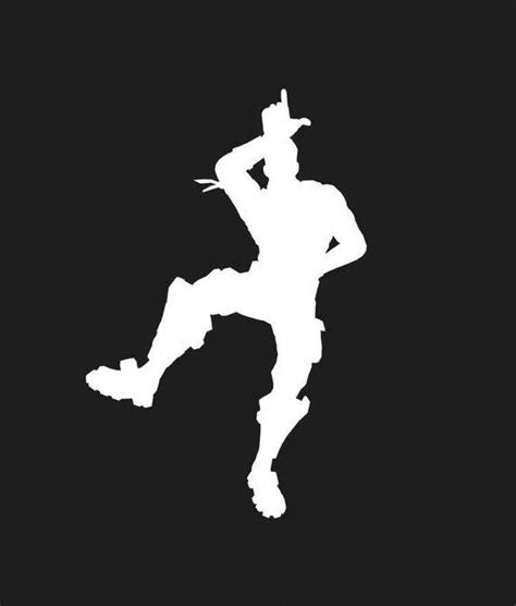 image result  fortnite hype emote silhouette gaming