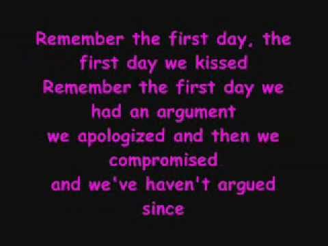 I Remember When I First Saw You Lyrics