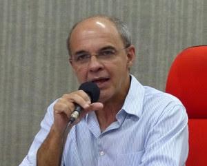 Eduardo Bandeira de Mello presidente do Flamengo (Foto: Vicente Seda)