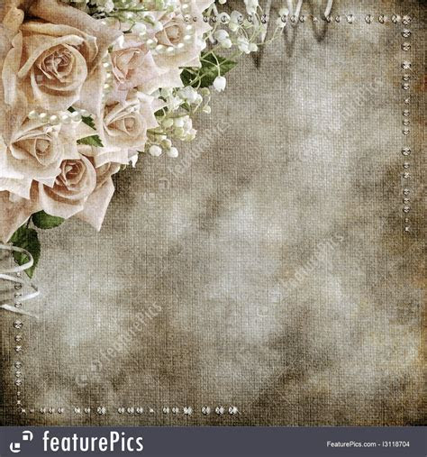 Templates: Wedding Vintage Romantic Background   Stock