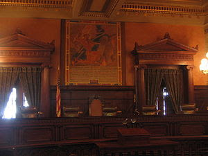 Five of seven judges seats in the Supreme Cour...
