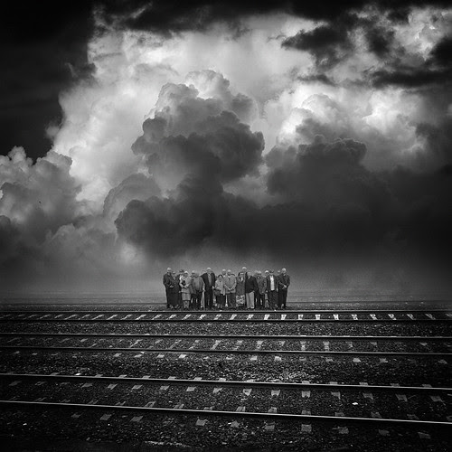 The train or Godot ? por yves.lecoq