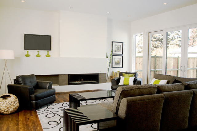 Fifth Element Concrete Splash and Fireplace Surround - modern ...